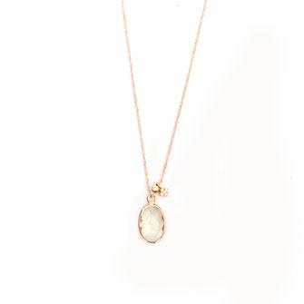 collier choker necklace gwapita bijoux français france createur fin doré plaqué or vert d'eau perles