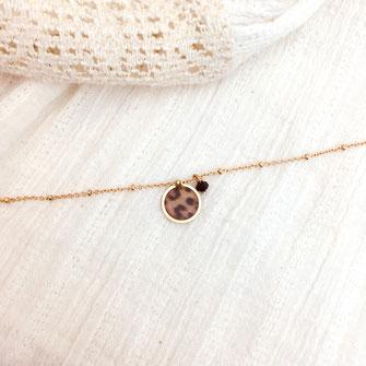 bracelet doré plaqué or fin Gwapita bijoux créatrice française france panthère