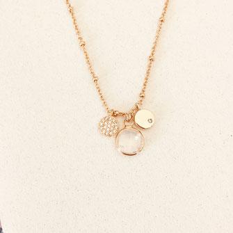 collier choker necklace gwapita bijoux français france createur fin doré plaqué or blanc opal IGOR perles