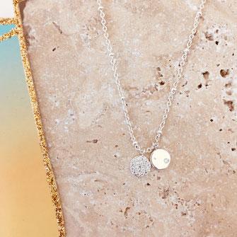 COLLIER choker necklace gwapita bijoux français france createur fin doré plaqué ARGENT argenté zirconium