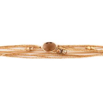 bracelet doré plaqué or fin Gwwapita bijoux créatrice française france miltirangs