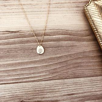 collier choker necklace gwapita bijoux français france createur fin doré plaqué or oval