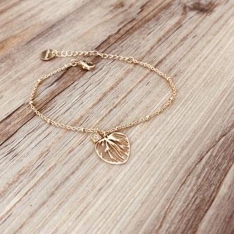 bracelet doré plaqué or fin Gwapita bijoux créatrice française france Monica