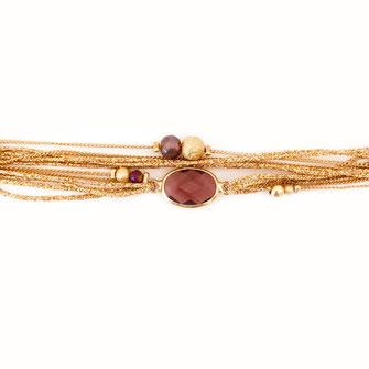bracelet doré plaqué or fin Gwapita bijoux créatrice française france Jules marsala