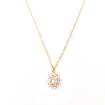 collier choker necklace gwapita bijoux français france createur fin doré plaqué or soleil louise