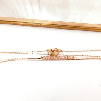 thelma gwapita bijoux nude bracelet perles