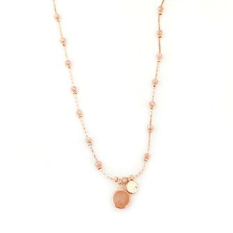 collier gwapita Pablo beige nude necklace