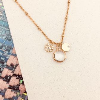 collier choker necklace gwapita bijoux français france createur fin doré plaqué or cristal ara,spare,t  perles