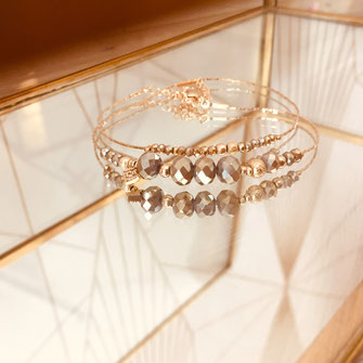 bracelet doré plaqué or fin Gwapita bijoux créatrice française france pyrite Marius