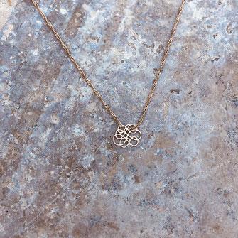 collier gwapita bijoux infinity femme amour infini doré