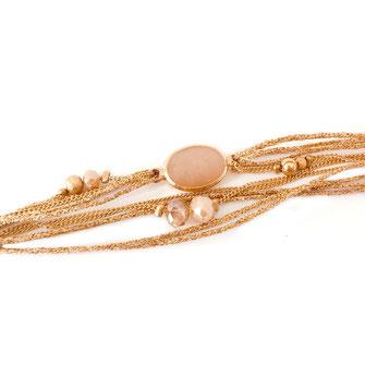 bracelet doré plaqué or fin Gwapita bijoux créatrice française france Jules nude