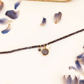 bracelet doré plaqué or fin Gwapita bijoux créatrice française france marcel Montana perles