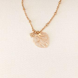 collier choker necklace gwapita bijoux français france createur fin doré plaqué or coeur