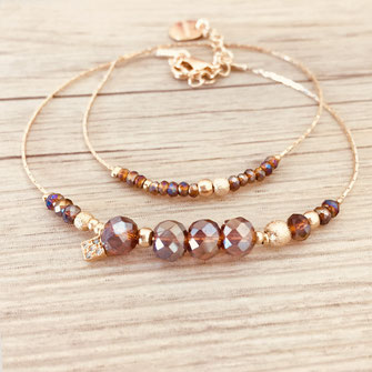 bracelet doré fin chaine fine creation gwapita plaqué or fin Gwapita bijoux créatrice française france