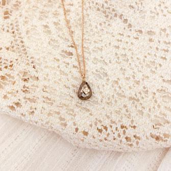 Collier gwapita spinelle doré pierre précieuse Inde