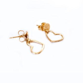 Boucles d'oreille COEUR mini / 35€