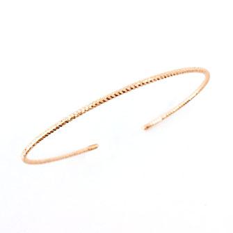 bracelet doré plaqué or fin Gwapita bijoux créatrice française france jonc abel