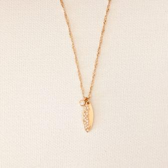 collier choker necklace gwapita bijoux français france createur fin doré plaqué or zirconium