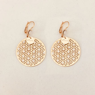 bo boucles d'oreilles gwapita wapita new collection creation bijoux mathilde perle d'eau douce jewels jewelry earrings gold plated plaqué or doré France jjacynth blanc strass