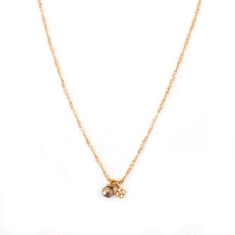 collier choker necklace gwapita bijoux français france createur fin doré plaqué or gris