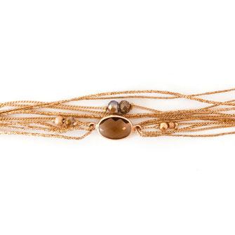 bracelet doré plaqué or fin Gwapita bijoux créatrice française france Jules pyrite