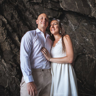 Professional wedding photography in Vernazza, Liguria, Italy