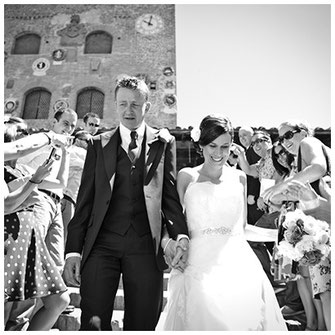 Professional wedding photography in Certaldo, Tuscany, Italy