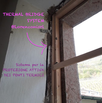 thermal bridge system lorenzoni protezione attiva ponti termici