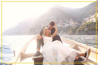 matrimonio in barca ad ischia