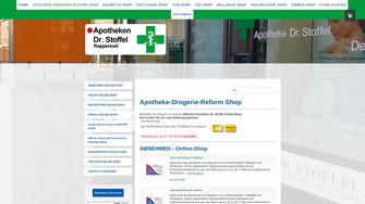 Apotheke Dr. Stoffel Online-Shop, Rapperswil