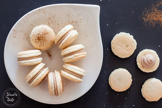 Honig-Zimt Macarons
