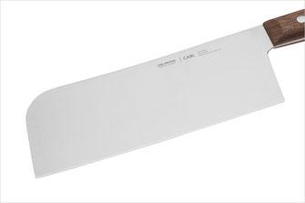 Breite Klinge aus X50 Spezialklingenstahl