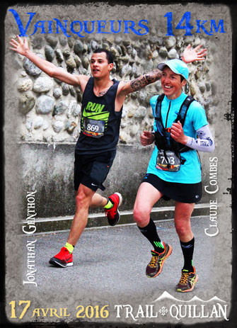 Trail Quillan 2016 - Anthony Genthon et Claude Combes