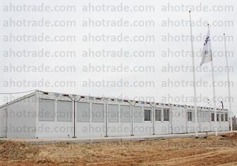 Штаб строительства из блок-модулей containex
