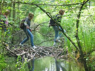 Gemeinsam unterwegs in der Natur (Foto: Dr. Christian Stierstorfer, LBV)