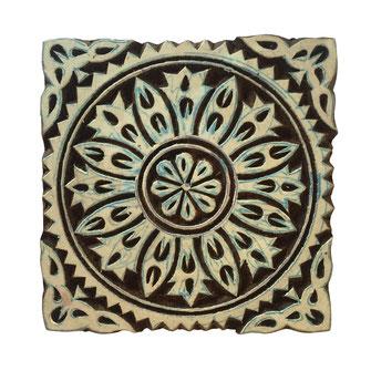 Holzstempel für Textildruck / Keramik Präge Stempel