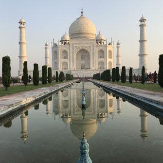 Textil Rundreise Rajasthan Taj Mahal