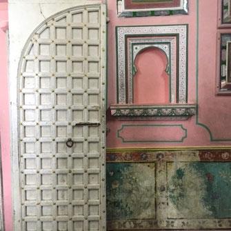 City Palace Udaipur Rajasthan Textilrundreise Indien