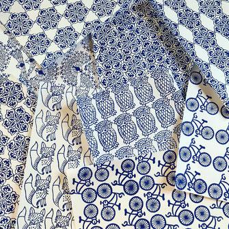 Textildruck Kurs mit indischen Holzstempel Wädenswil