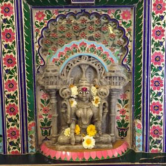 City Palace Udaipur Textilrundreise Indien