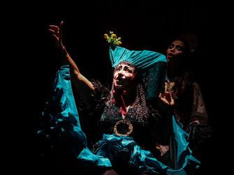 Obra: Blanca Nieves, el embrujo de la manzana. Grupo: Matacandelas