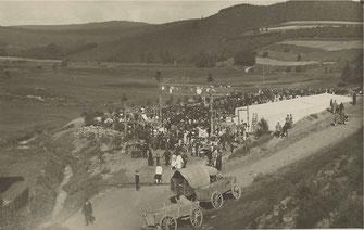 Der Turnplatz - 1928 eher Mehrzweckfeld