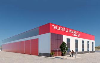 Infografía nave industrial Murcia