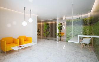 Ambientes 3D interiores arquitectura