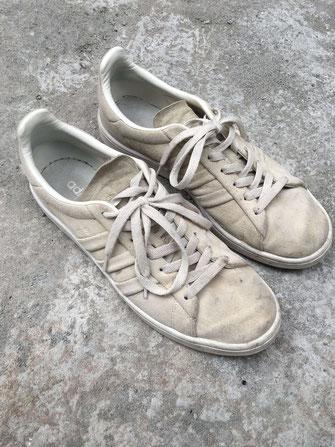 Sneakers avant nettoyage par pointure 44