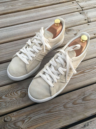 Sneakers après nettoyage par pointure 44