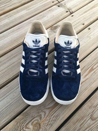 Sneakers après teinture par pointure 44