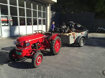 Meili Traktor 1957