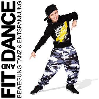 FitandDance by Lara Höll Fit@home Onlinekurse Kids HipHop Dance Tanz Kindertanz Streetdance Tanzschule Strausberg