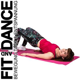 FitandDance by Lara Höll Fit@home Onlinekurse Bauch Beine Po Sport Fitness